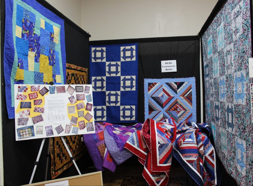 community quilts display